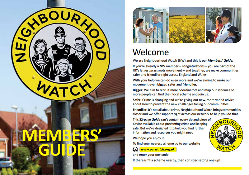 Neighbourhood Watch Members Guide