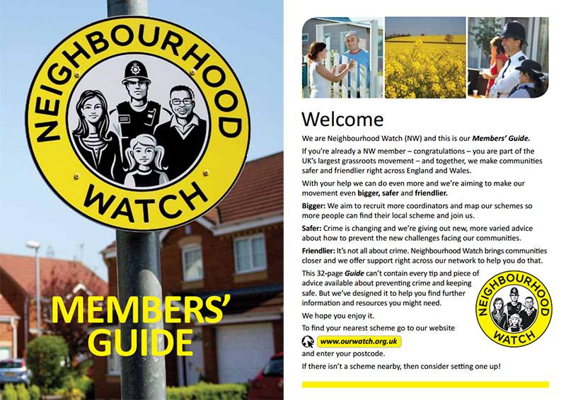 Neighbourhood Watch Members Guide